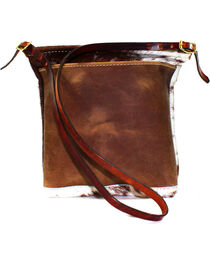 SouthLife Supply Women's Cowhide Cross Body Bag, , hi-res