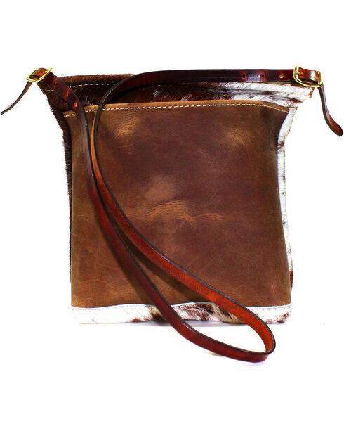 SouthLife Supply Women's Cowhide Cross Body Bag, Multi, hi-res