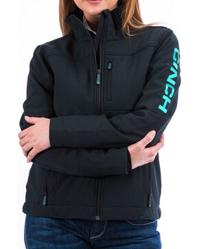 Cinch Women's Black Bonded Concealed Carry Jacket , Black, hi-res