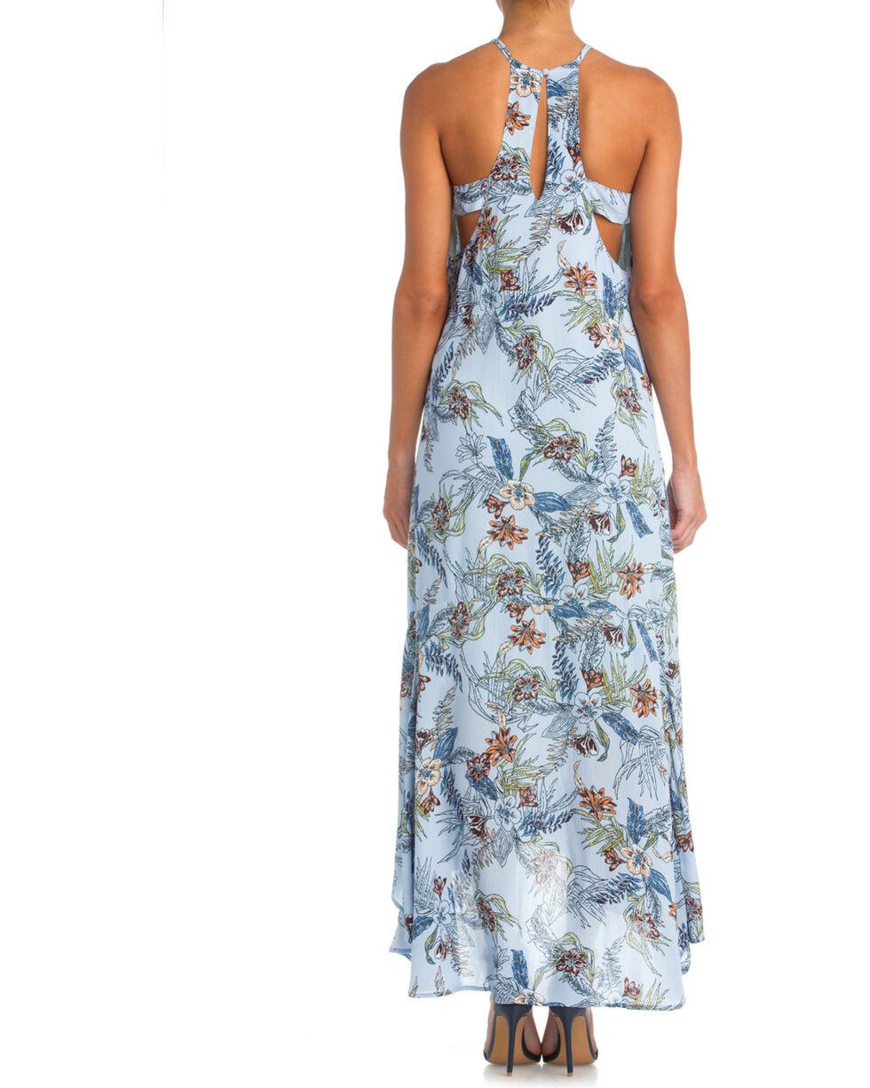 Miss Me Women's Island Fever Maxi Dress, Light Blue, hi-res