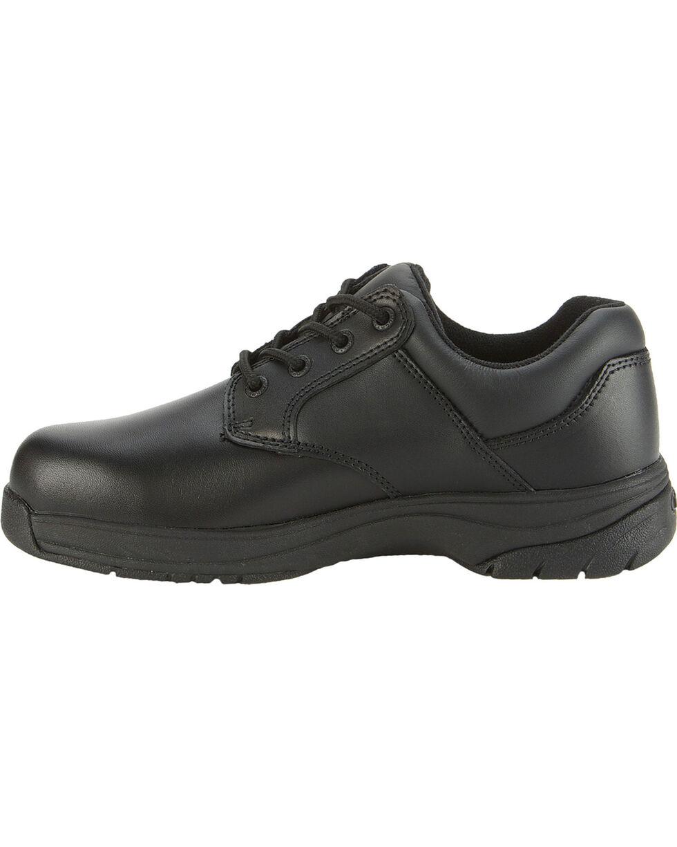 Rocky Men's Slip Stop Oxford Duty Shoes, Black, hi-res