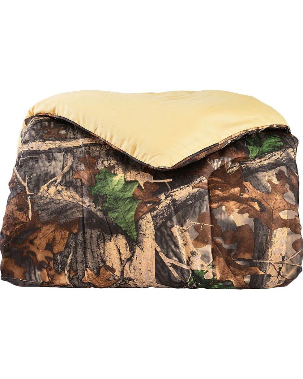 HiEnd Accents Oak Camo Comforter Set, Multi, hi-res