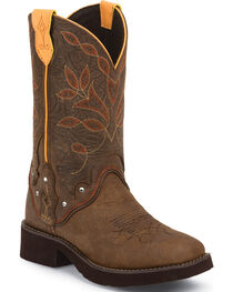 Justin Women's Gypsy Westen Boots, Brown, hi-res