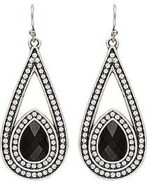 Wrangler Rock 47 Campfire Coals Night Stone & Stars Drop Earrings, , hi-res