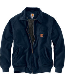 Carhartt Men's Navy Bankston Jacket - Big & Tall, , hi-res