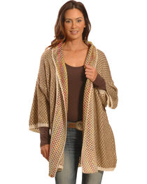 Lawman Women's Knitted Open Cardigan, , hi-res