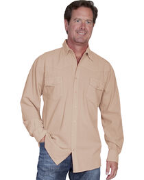 Scully Cantina Western Yoke Shirt, , hi-res