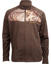 Rocky Men's Full-Zip Realtree Camo Fleece Jacket, , hi-res