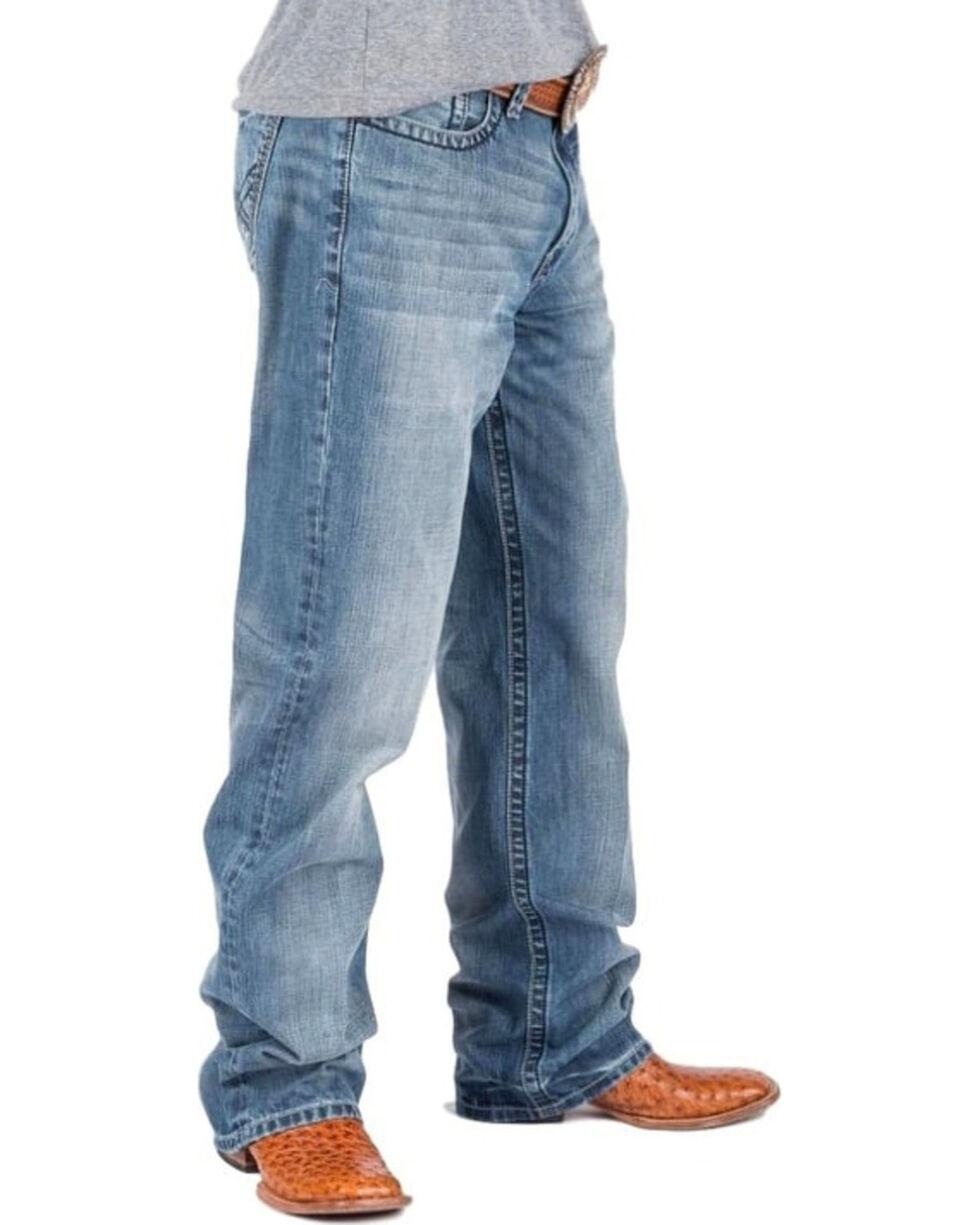 Tin Haul Men's Regular Joe Fit Light Wash Jeans - Boot Cut, Indigo, hi-res