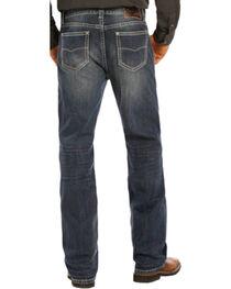 Rock & Roll Cowboy Men's Double Barrel Jeans - Straight Leg , , hi-res