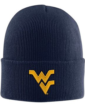 Carhartt University of West Virginia Mountaineers Cap, Navy, hi-res