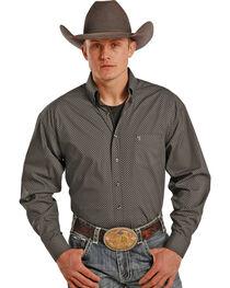 Tuf Cooper Performance Men's Dotted Pattern Long Sleeve Shirt, , hi-res