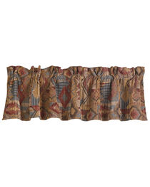 HiEnd Accents Ruidoso Southwest Patchwork Valance, Multi, hi-res