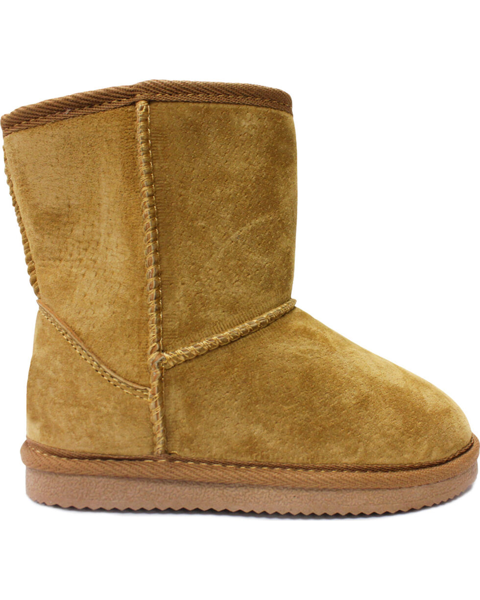 Lamo Footwear Kid's Classic Boots - Round Toe, Chestnut, hi-res