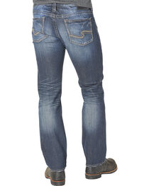 Silver Men's Nash Classic Fit Straight Jeans, , hi-res
