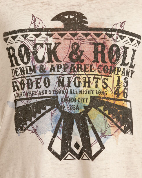Rock & Roll Cowgirl Women's Cream Thunderbird Graphic Tee , Cream, hi-res