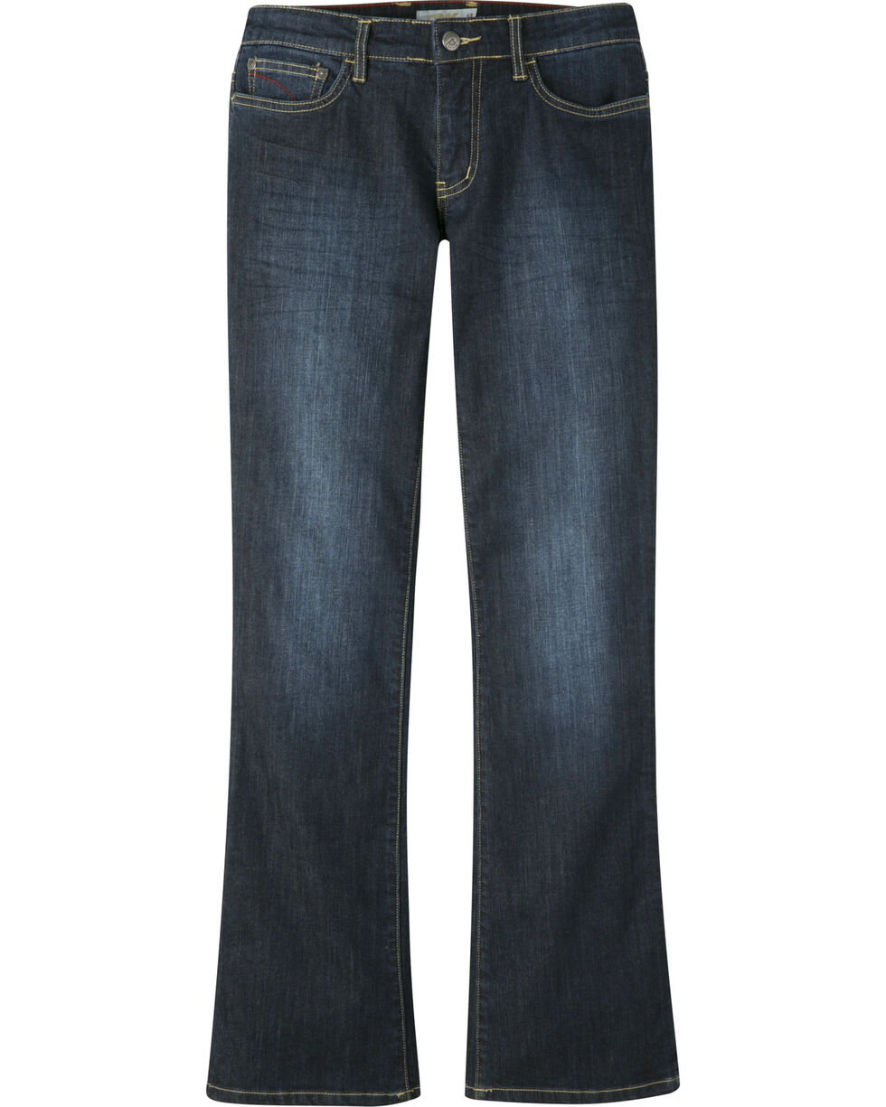 Mountain Khakis Women's Genevieve Boot cut Jeans - Petite, Indigo, hi-res