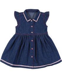 Wrangler Infant & Toddler Girls' Denim Dress, , hi-res