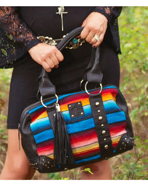 STS Ranchwear Women's Contessa Serape Doctor's Bag, Multi, hi-res