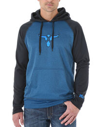Wrangler 20X Men's Two Toned Pullover Hoodie, , hi-res