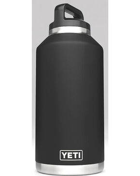 Yeti Black 64 oz. Bottle Rambler , Black, hi-res