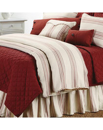 HiEnd Accents Prescott Striped Super Queen Size Duvet, , hi-res