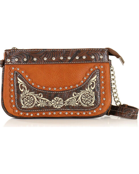 Savana Women's Embroidered Wristlet, Multi, hi-res