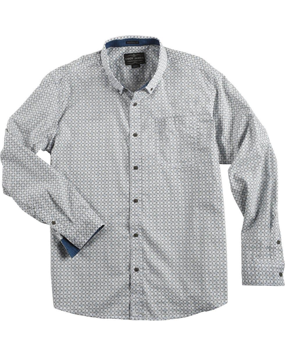 Cody James Men's Solvang Patterned Long Sleeve Shirt - Big & Tall, , hi-res