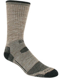 Carhartt Tan Work-Dry® All-Terrain Crew Socks, , hi-res