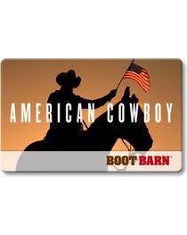 Boot Barn® American Cowboy Gift Card, , hi-res