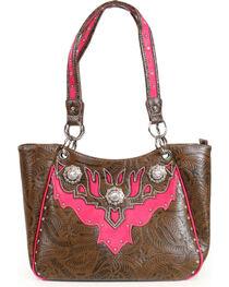 Corral Ridge Women's Rhinestone Concealed Carry Handbag, , hi-res