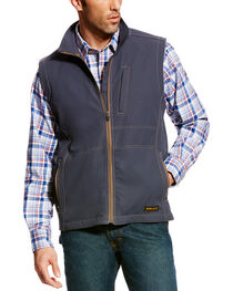 Ariat Men's Rebar Canvas Softshell Vest - Tall, , hi-res