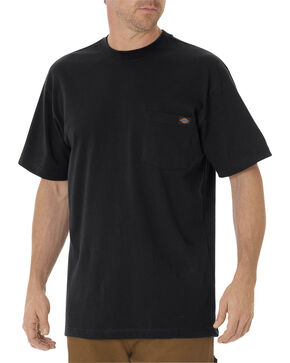 Dickies Men's Heavy Weight Short Sleeve Tee, Black, hi-res