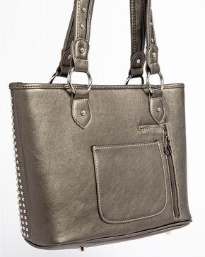 Shyanne® Women's Cross Concealed Carry Tote  , Dark Grey, hi-res