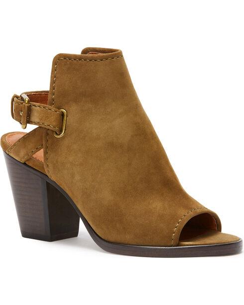 Frye Women's Khaki Dani Shield Sling Shoes, Beige/khaki, hi-res