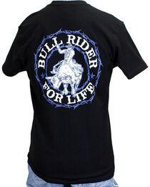 Cowboy Hardware Men's Bull Rider For Life Tee, , hi-res