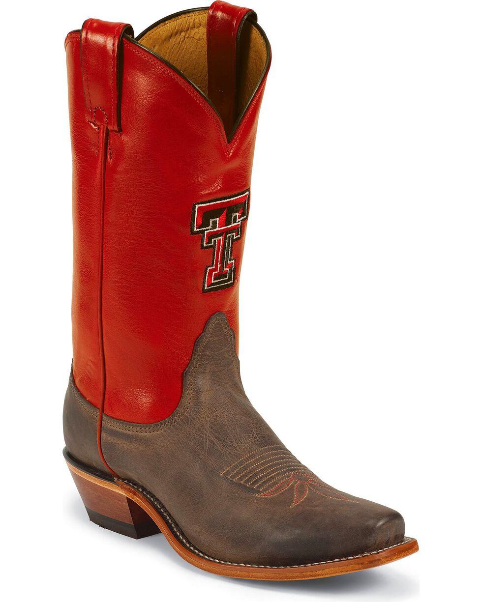 Nocona Women's Texas Tech University College Boots, Tan, hi-res