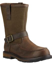 Ariat Men's Groundbreaker Moc Toe Work Boots, , hi-res