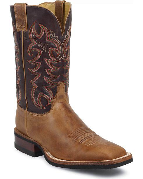 """Justin Men's 11"""" AQHA Western Boots, Tan, hi-res"""