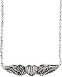 Montana Silversmiths May Your Heart Soar on Wings Necklace, , hi-res