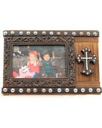"Studded Cross Photo Frame - 4"" x 6"", , hi-res"