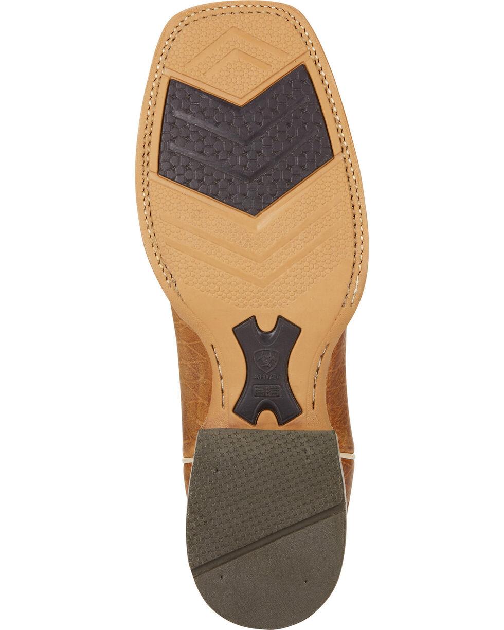 Ariat Men's Top Hand Square Toe Western Boots, Tan, hi-res