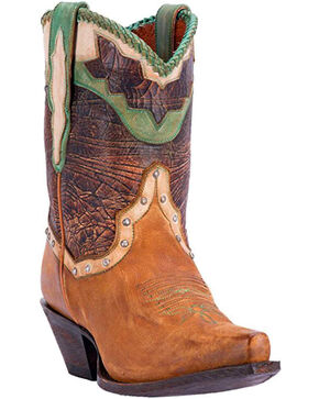 Dan Post Women's Danica Western Boots, Tan, hi-res