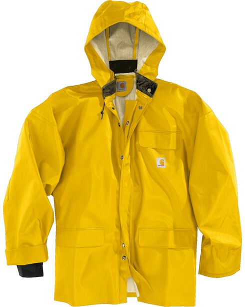 Carhartt Surrey Rain Coat, Yellow, hi-res