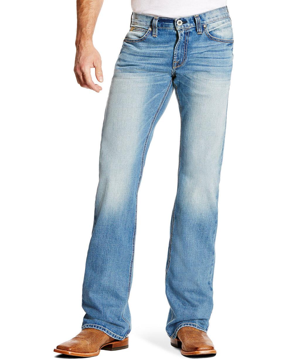 Ariat Men's M7 Trace Shasta Wash Jeans - Boot Cut , Indigo, hi-res