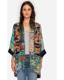 Johnny Was Women's Koben Canvas Embroidered Kimono, , hi-res