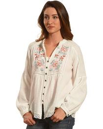 Tasha Polizzi Women's Ivory Dillon Shirt, , hi-res