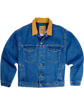 Schaefer Outfitter Men's Legend Denim Jacket - Big, Indigo, hi-res