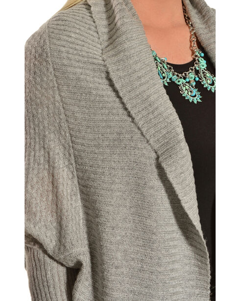 Ariat Women's Rachel Cardigan, Hthr Grey, hi-res