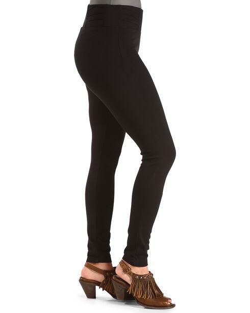 Boom Boom Jeans Women's Black Ponte Leggings , Black, hi-res